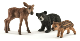 set jonge bosdieren 41457