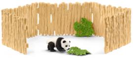 panda met omheining 42429