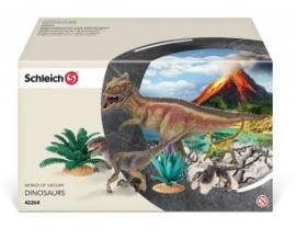 Giganotosaurus + velociraptor 42264