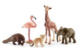 set wilde dieren 42388