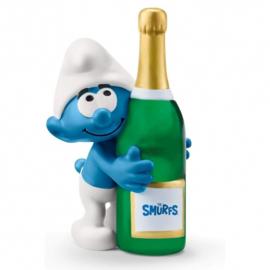 smurf met fles 20821
