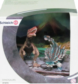 kleine saichania + giganotosaurus  41426