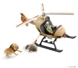 hélicoptère pour sauvetage d'animaux 42476