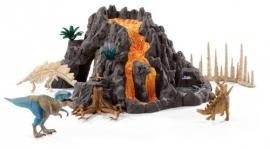 set vulkaan T-rex 42305