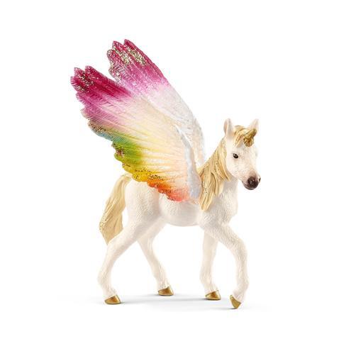 licorne ailée arc-en-ciel poulain 70577 18