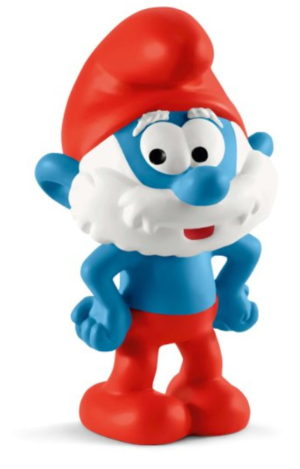 grote smurf 20814
