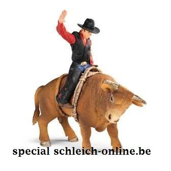 cowboy met stier 72120
