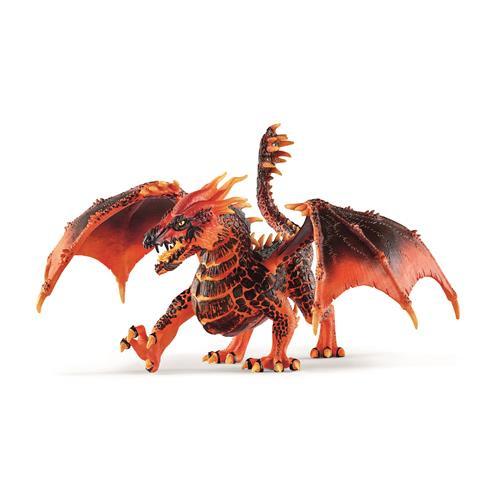 Eldrador dragon de lave 70138