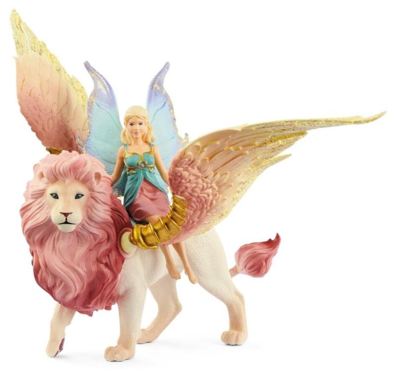 elfe à dos de lion ailé 70714