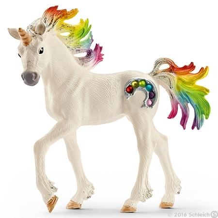 bayala regenboog eenhoorn veulen 70525 -