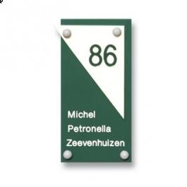 Acrylaat naamborden GM-062 10x20cm