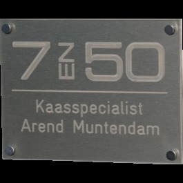 Acrylaat naamborden BG-4100 20x15cm