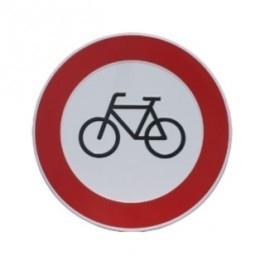 GA021 verbod fiets 24cm rond
