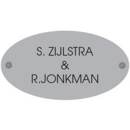 Acrylaat naamborden GM-077 17,5x9,5cm