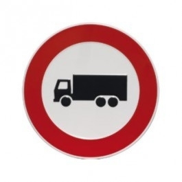 GA019 verbod vrachtwagen 24cm rond