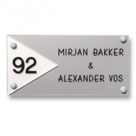 Acrylaat naamborden GM-083 20x10cm