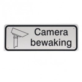 GA045 camera bewaking 40x15cm