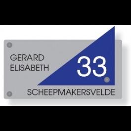 Acrylaat naamborden GM-071 20x10cm