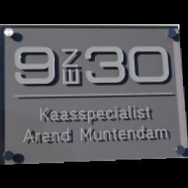 Acrylaat naamborden, BG-3100 20x15cm