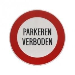 GA007 parkeren verboden 24cm rond