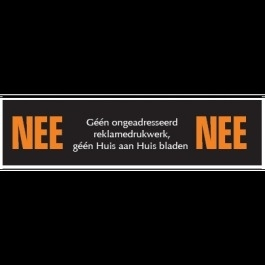 OR-19 NEE NEE sticker 12x3cm