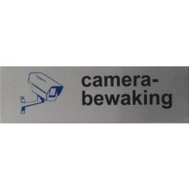 RP07 RVS Pictogram CAMERABEWAKING