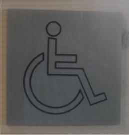 Gegraveerde pictogrammen acrylaat