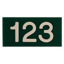 Huisnummerborden acrylaat