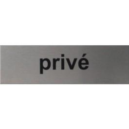 RP08 RVS Pictogram PRIVE