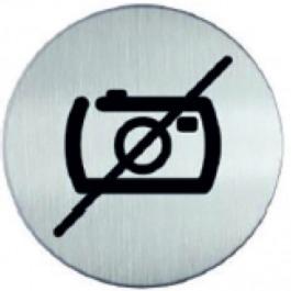 RP73 RVS Pictogram VERBODEN TE FOTOGRAFEREN