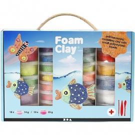 Foam clay - groot pakket