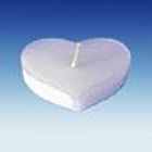 Drijfkaarsen hart (6)