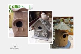 Vogelhuisjes woensdag 1 mei 2019 14u-17u