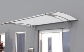 Vordach Brüssel (150cm x 90cm silber) incl. Versandkosten
