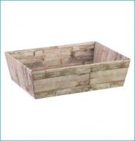 Delicatessenschaal Wood 23*17*8 / 50 stuks