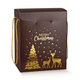 Kerstdoos Merry Christmas - L