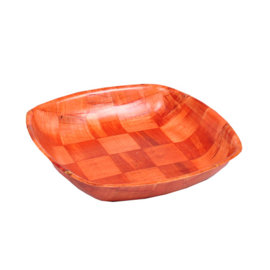Houten Pita schaal Vierkant ca. 25*25 cm