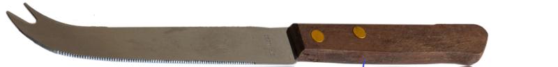 Kaasmesje met houten handvat ca. 19 cm (per 50 stuks)