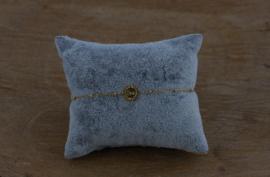 Roestvrij stalen (RVS) Stainless steel armbanden jasseron love goud