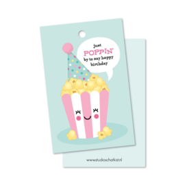 CADEAULABEL | just POPPIN' by to say happy birthday! Roze