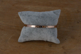 Quote armband 'You Are The Star In My Sky' rosé goud