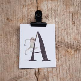 A van Aap - Letterkaartje