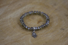 Black Diamond Hamsa Sparkle