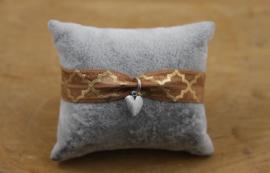 Elastische armbandjes met print