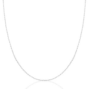 STAINLESS STEEL KETTING MIX & MATCH ZILVER