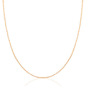 STAINLESS STEEL KETTING MIX & MATCH ROSE GOUD