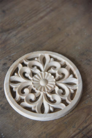 Wood ornement  15cm