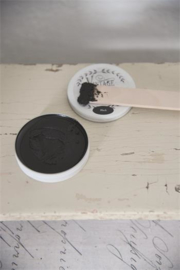 Vintage Paint Antique wax black