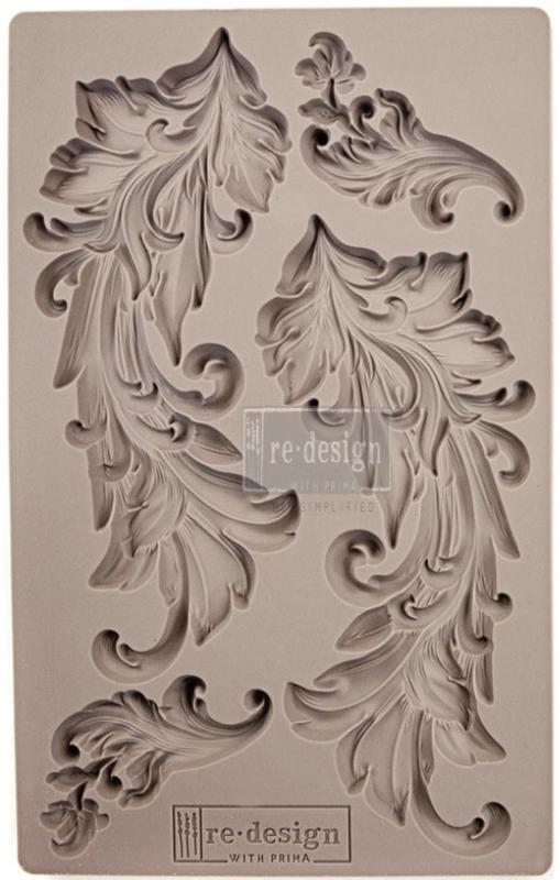Herontwerp decor mallen Baroque swirls