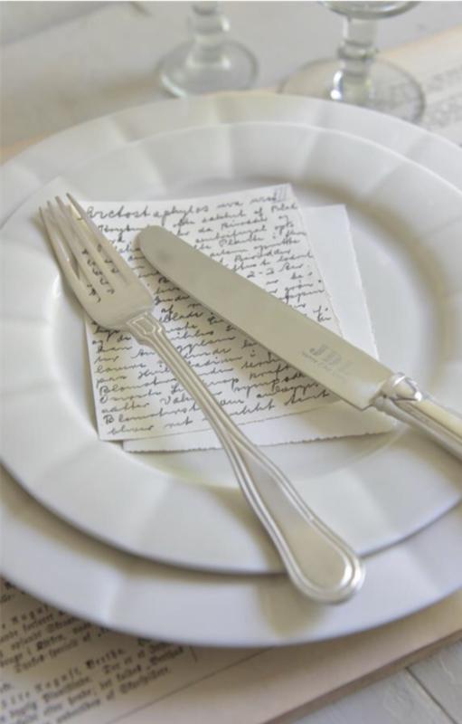 Diner bord van Jeanne d'Arc Living